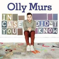Amazon MP3-Deal des Tages: Olly Murs - In Case You Didn't Know (inkl. Bonustrack / exklusiv bei Amazon.de) Nur 3,99 €