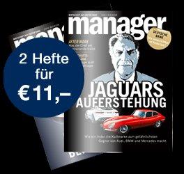 2 Hefte Manager Magazin für rechnerisch 1 €