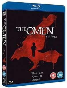 The Omen Trilogy [Blu-ray] (OT) für 12,39€ @Amazon.co.uk
