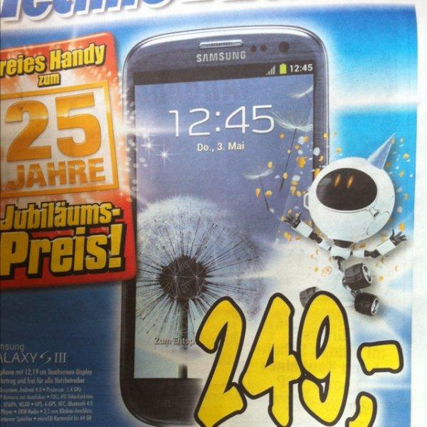 Samsung Galaxy S3 ohne Vertrag für alle Netze! Technoland (lokal ) Nähe Stuttgart