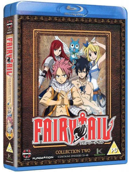 Fairy Tail - Collection Two UK Bluray Vorbestellung für rund 13,50€