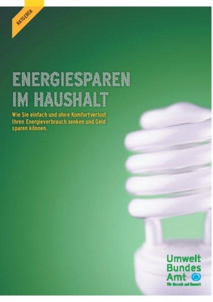 """250 Euro Stromkosten sparen! Neue Broschüre """"Energiesparen im Haushalt"""""""