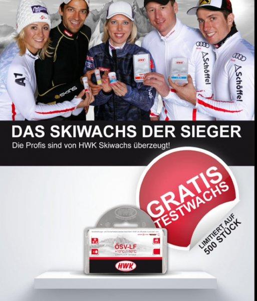 Skiwachs HWK +10Grad / -10Grad