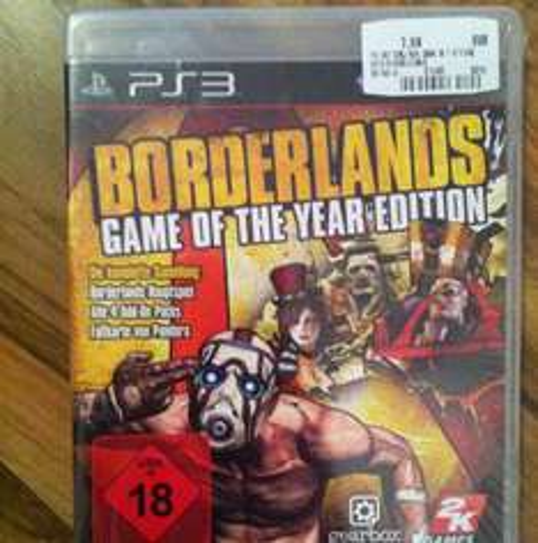 [MM Gründau-Lieblos Lokal?] Borderlands Game of The Year Edition PS3