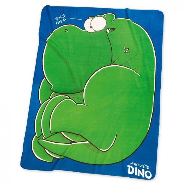 """Fleecedecke Motiv """"Dino"""" von nichtlustig im Doppelpack für 23,98.-  (Idealo 39,98.-)"""