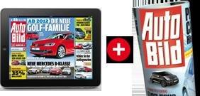 Auto Bild für 0,99 EURO den Monat inkl. Tablett App!