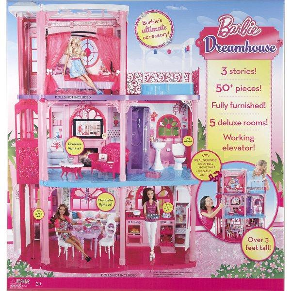Mattel - Barbie 3-stöckige Traumvilla mit viel Zubehör für 90€ @Karstadt