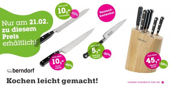 Berndorf Messer & Besteck bis zu 79% günstiger