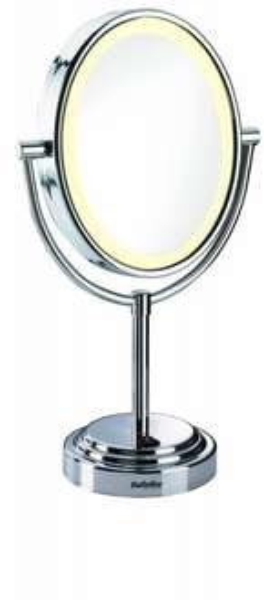 (Amazon-WHD) BaByliss 8437E Kosmetikspiegel 7-fach Vergrößerung mit Beleuchtung 15,35€ statt 31,83€!