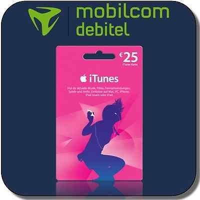 25 Euro iTunes Gutschein & o2 SIM-Karte Komplett Kostenlos