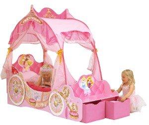 Kinderbett Disney Princess Kutsche, 70 x 140 cm für 199,99€