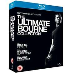 The Ultimate Bourne Collection Blu Ray für ca. 19,90 €