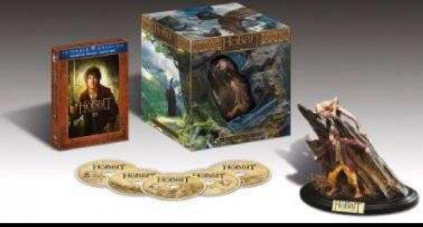 Der Hobbit: Eine unerwartete Reise - Extended Edition 3D/2D Sammleredition (5 Discs, inkl. WETA-Statue) [3D Blu-ray] Lokal - Mannheim