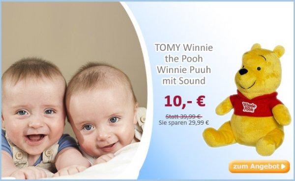 Winnie the Pooh mit Sound bei baby-markt.de für 14,95€