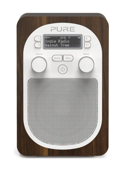 [AMAZON WHD] Pure VL-62115 Evoke D2 Walnuss Digital- & UKW-Radio (DAB/DAB+/DMB/UKW-Tuner)