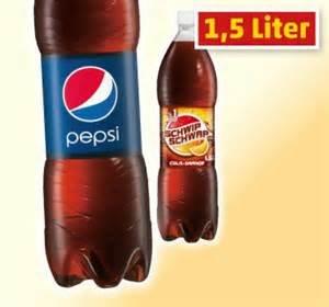 [Marktkauf] Pepsi,SchwipSchwap,Mirinda und 7up je 1,5l Pet-Flasche 0,49€ (0,33€ je Liter)