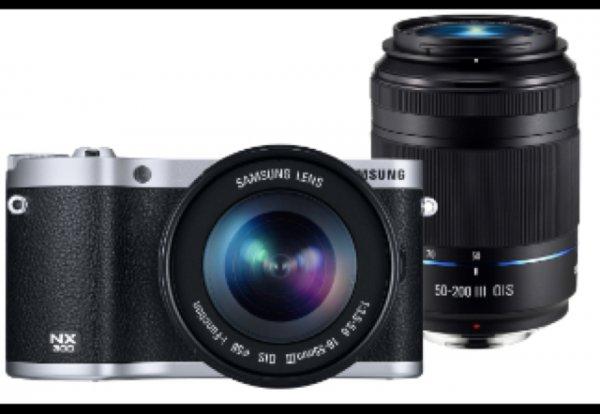 [Online] Samsung NX300 Kit 18-55 mm & 50-200 mm 503,99€ incl. Versand