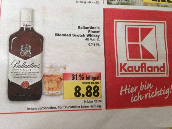 KAUFLAND Ballantine's Whisky ab 24.02.2014