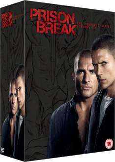 [Zavvi.com] [English] Prison Break Staffel 1-4 Plus The Final Break DVD