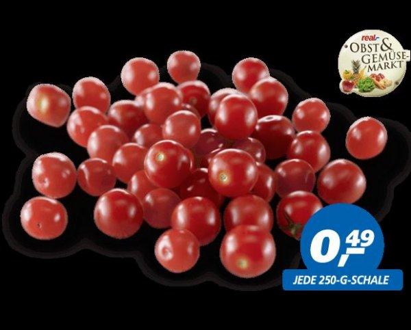 Cherrytomaten für 0,49€ (250g Schale)+Butter 250g für 0,99€+Bananen 0,96€ Kg und Wodka Gorbatschow 0,7l für 5,77€ bei real (im Markt)