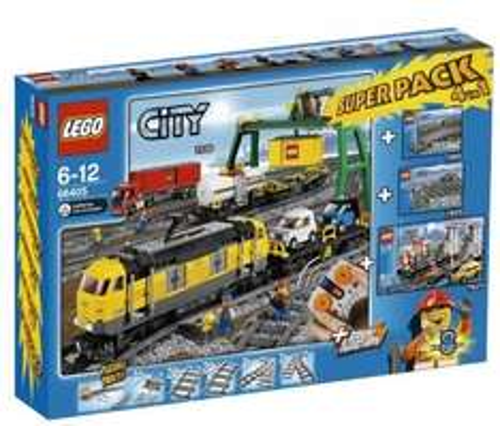 LEGO CITY Passagierzug 7938 bei amazon.fr günstig (Güterzug Superpack 66405 ist weg!)
