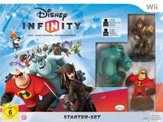 Amazon: Disney Infinity Starter-Set für Wii 32,97, für PS3 38,97