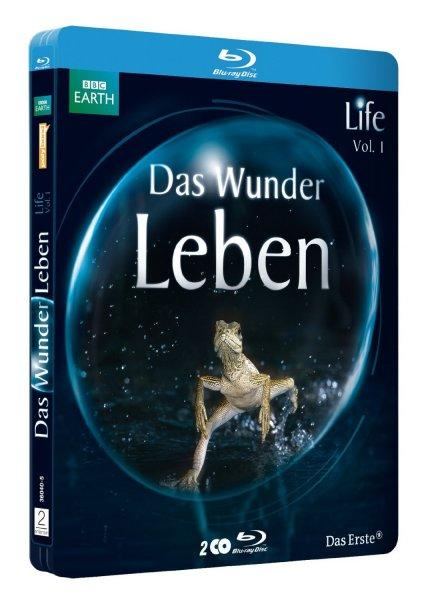 """[amazon.de]Life - Das Wunder Leben. Vol. 1. Die Serie zum Film """"Unser Leben"""" (Limited Steelbook) [Blu-ray] u. Die größten Naturereignisse (Steelbook) [Blu-ray] für 11,97 € (Prime oder Hermes)"""