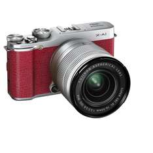 Fujifilm X-A1 Kit mit XC16-50mm in rot