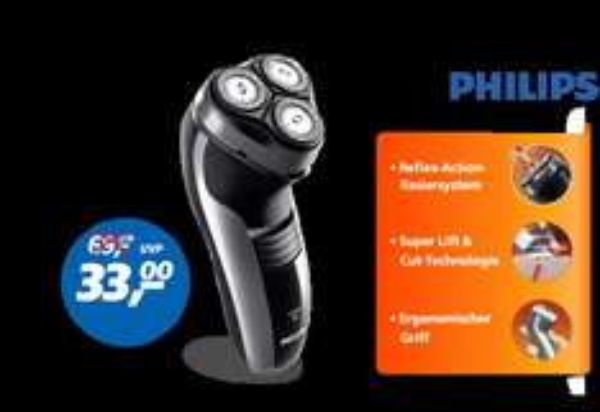Real           Philips Rasierer HQ 6990/16   Deal des Tages 25.02.14 Online + 4,95 VK oder Markt = Dealpreis