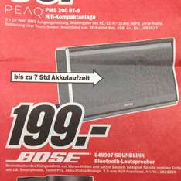 Bose Soudlink Bluetooth Lautprecher