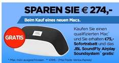 75€ Rabatt + JBL Soundfly Airplay bei Kauf z.B. eines Macbooks