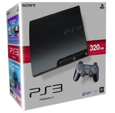 PS3 Slim 320GB  K-Model (Neu)