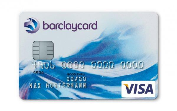 Kostenlose Barclay Card New Visa inkl. 25€ Startguthaben