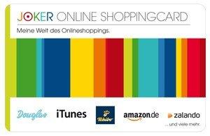 """Gut 4% Rabatt auf Amazon, Zalando, notebooksbilliger,de, Toys""""R""""Us und andere Geschenkgutscheine bei Joker Online Shopping Code Aktion"""