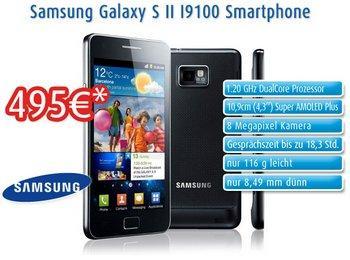 Samsung Galaxy S2 ohne Vertrag und ohne Branding ab 12 Uhr