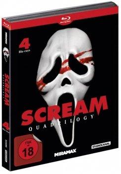 [Blu-ray] Scream Quadrilogy (uncut) ab 16,99€ @ Alphamovies