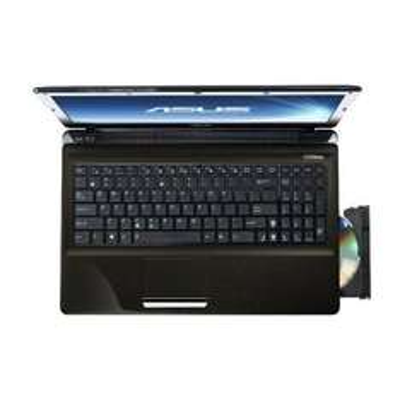 Asus X52JT-SX013V 39,6 cm (15,6 Zoll) Notebook (Intel Core i7 740QM, 1,7GHz, 4GB RAM, 500GB HDD, ATI HD 6370M, Win7 HP, DVD) braun