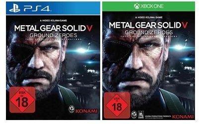 [Bücher.de] Metal Gear Solid V: Ground Zeroes (Xbox One/PS4/ X360/PS3) für 25,00 € inkl. Versand