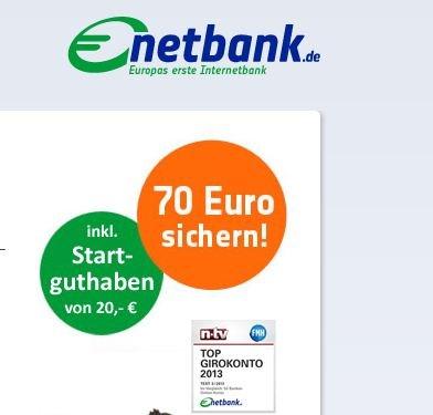 115€ geschenkt bei Eröffnung eines Netbank Girokontos