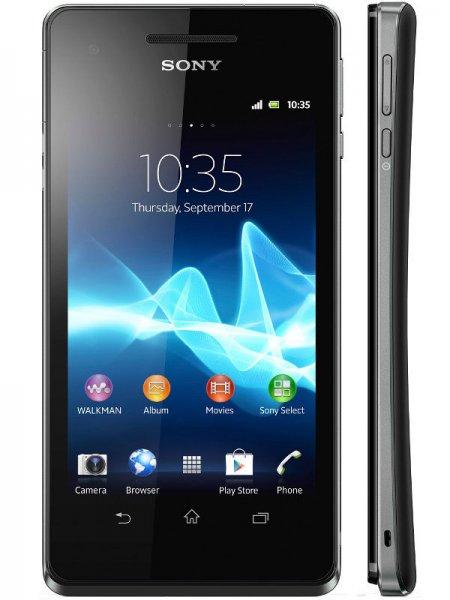 Sony Xperia V schwarz für 179€ (Vergleichspreis: 249€) @ Mediamarkt