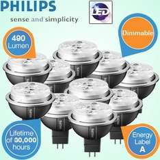 iBOOD: 10er-Pack Philips MASTER LED-Spots 10W dimmbar für 79,95€