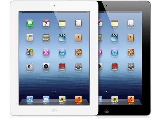 Apple iPad 4 16GB 4G weiß/schwarz Demoware
