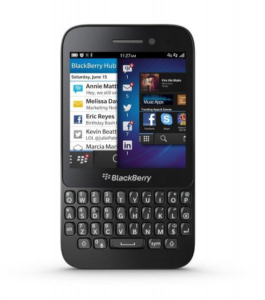 Blackberry Q5 in schwarz bei Amazon direkt für 239 €
