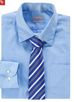 Businesshemd mit Krawatte Blau OTTO.de