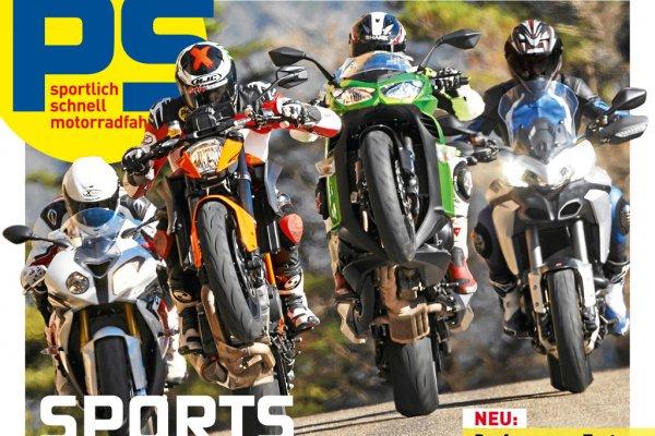"""[Leserservice in Kombination mit Payback] Motorrad-Zeitschrift """"PS"""", Halbjahres-Abonnement  für rechnerisch insgesamt 3,40 €"""