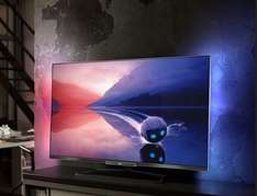 Philips 47PFL6678K/12 47-Zoll-3D-Smart-LED-TV mit Ambilight 2-seitig für 808,90 €