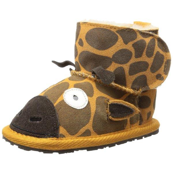 Emu Little Creatures Walker Giraffe B10762 Unisex-Baby Krabbelschuhe ab 21,75€