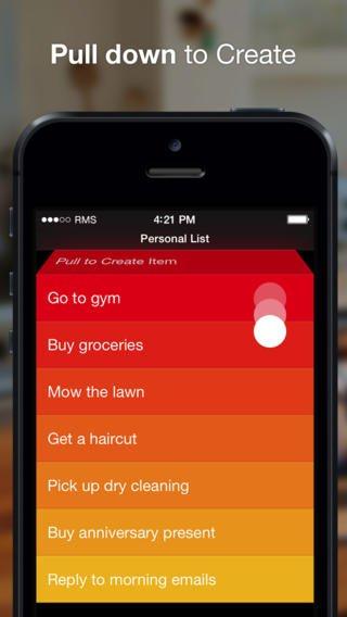 iOS Clear Task & To Do List (Gratis statt 4,99€)