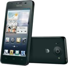 "Huawei™ - Ascend G510 Smartphone (4.5"" IPS 854x480,4GB,Android 4.1,5.0MP+AF/LED Cam,NFC) in Schwarz [B-WARE] ab €82,41 [@eBay.de]"