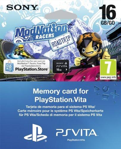 PS Vita Speicherkarte 16 GB + ModNation Racers: Road Trip für 22,69 € inkl. Versand